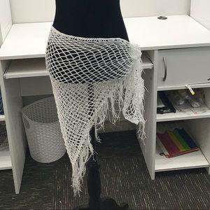 Crochet Sarong Swim Cover-Up.